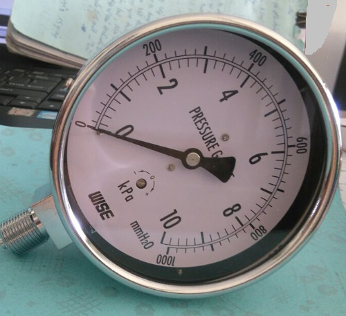 Các tiêu chí cần biết về đồng hồ đo áp suất