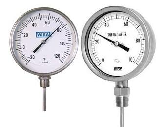 Đơn vị phân  phối đồng hồ đo nhiệt độ giá rẻ