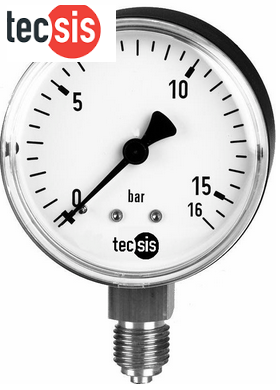 đồng hồ áp suất tecsis