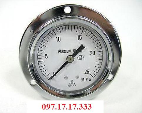 Đồng hồ đo áp suất Nishin Nhật Bản