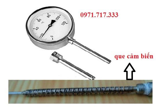 Đồng hồ đo nhiệt độ hoạt động như thế nào