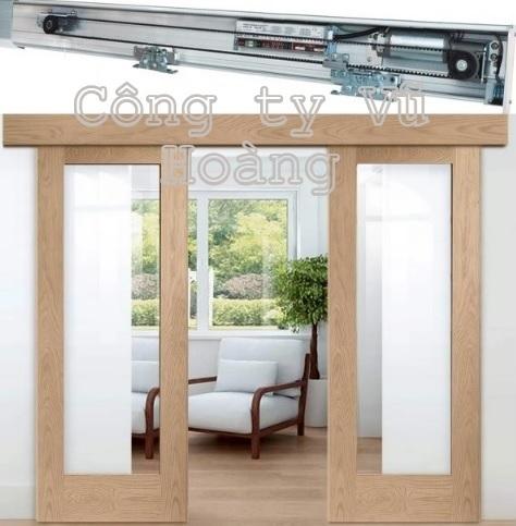 Cửa gỗ kết hợp kính cường lực - Báo giá cửa kính cường lực khung gỗ