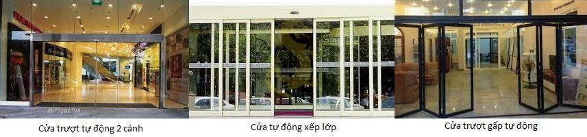 Cửa kính tự động Đài Loan