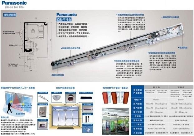 Cửa trượt tự động Panasonic PS-120