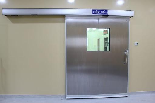 Cửa tự động đáp ứng tiêu chuẩn phòng mổ