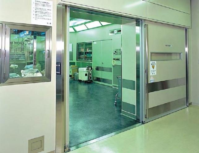 Cửa Tự Động Phòng Mổ Đảm Bảo Vô Trùng Cách Âm Cách Nhiệt