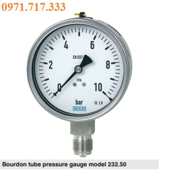 Đồng hồ đo áp suất tại Đồng Nai