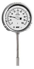 Đồng hồ nhiệt độ có dầu Wise