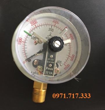 Phân phối đồng hồ đo áp suất 3 kim Nishin-Nhật Bản