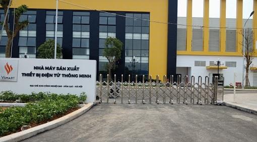 Tư vấn lắp đặt cổng khu công nghiệp tại các nhà máy, công ty